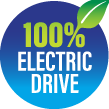 100% ELECTRIC DRIVE