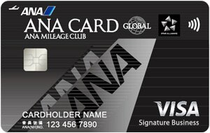 CTBC ANA VISA Business Signature Card