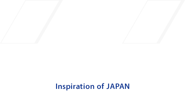 Sparkling + Caring + Japan Quality = Inspiration of JAPAN