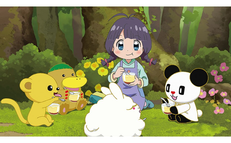 Go-chan and his Forest Friends / Moko & Marvelous Creatures