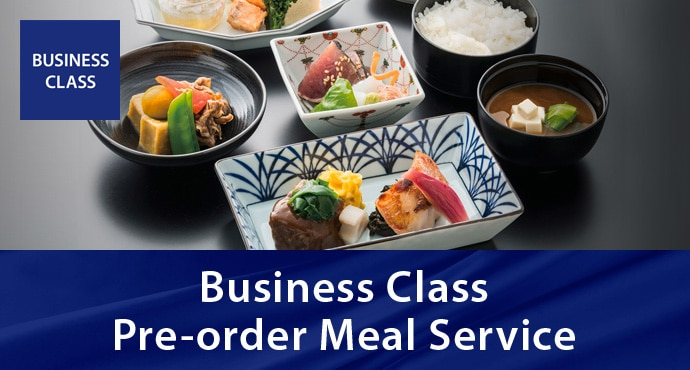 Business Class Pre-order Meal Service