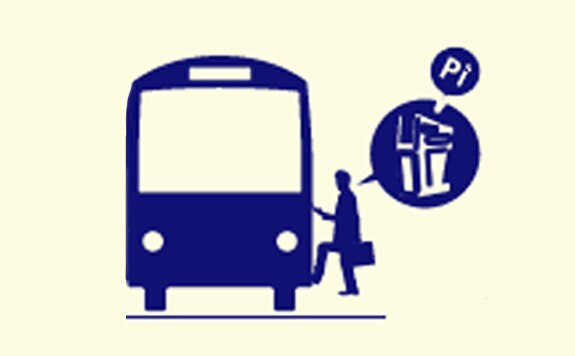 Illustrative icon for bus