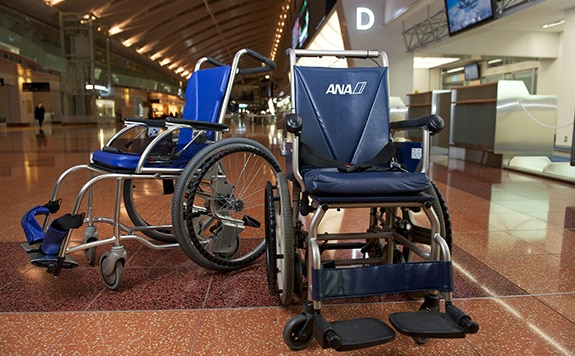 Image of airport wheelchair
