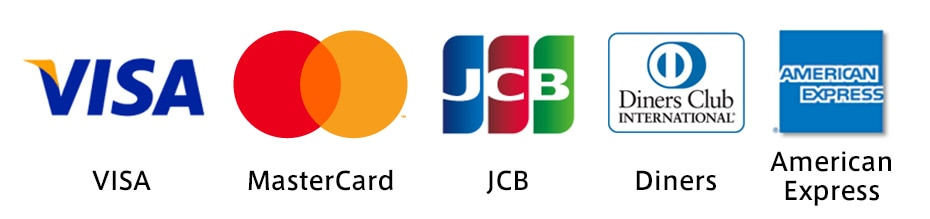 Images of credit card brands