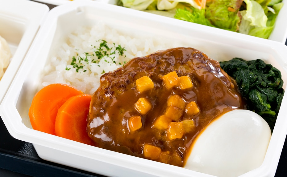 Economy Class Meal Image
