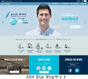 ANA Blue Wingサイト