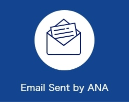 Email Sent by ANA