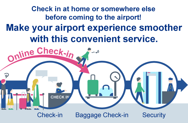Online Check-in for ANA International Flights | Prepare for travel