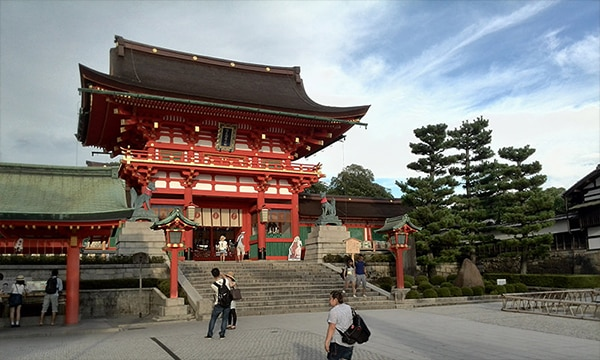 Photo du sanctuaire Fushimi Inari Taisha