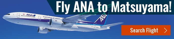 Fly ANA to Matsuyama ! (Search Flight)