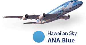 Hawaiian Sky ANA Blue