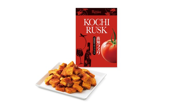 Kochi Tomato Rusks (with dried tomatoes made in Kochi)