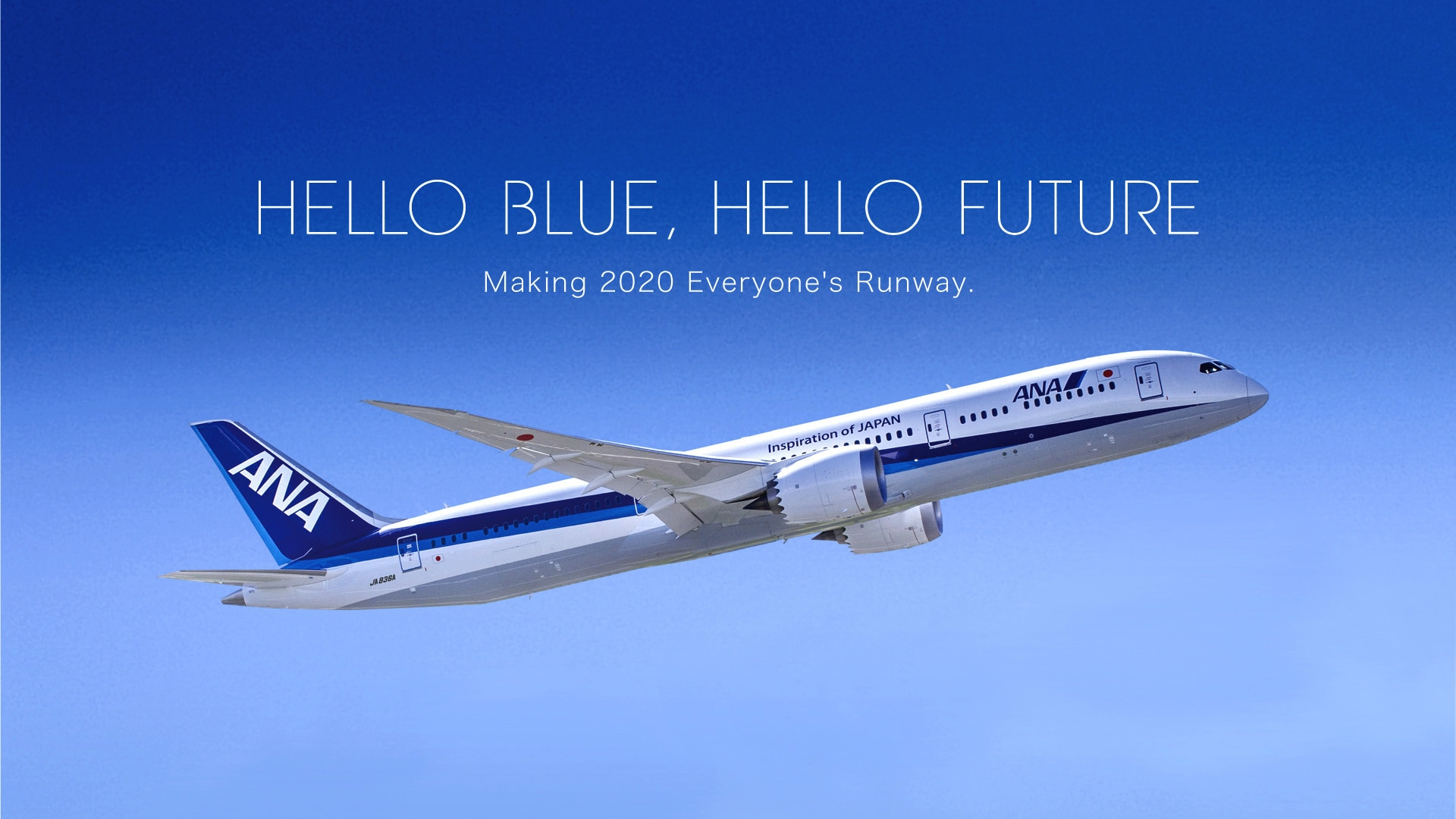 HELLO BLUE, HELLO FUTURE Making 2020 Everyone's Runway.