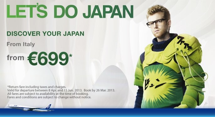Let's do Japan !  Discover your Japan from €699.