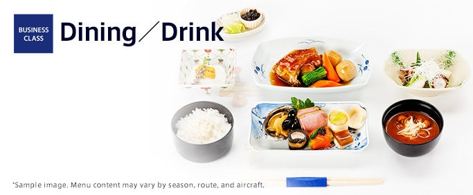 BUSINESS CLASS Dining/Drink