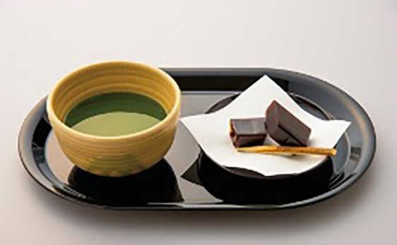 A cup of matcha